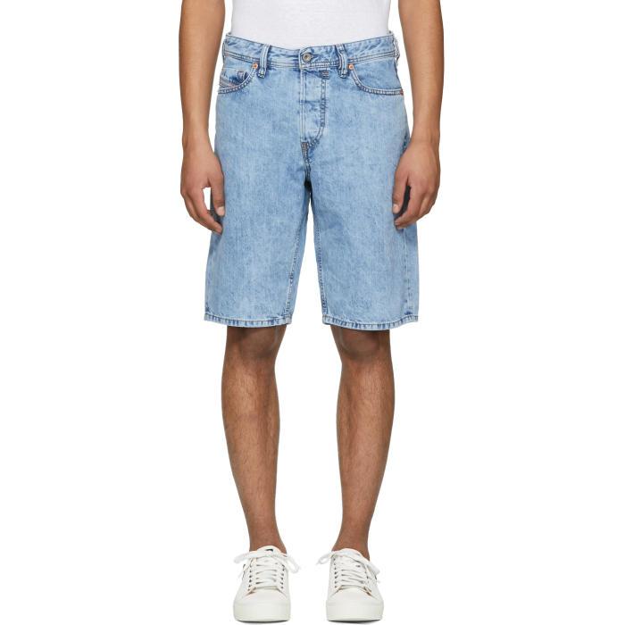 Photo: Diesel Blue Keeshort Denim Shorts