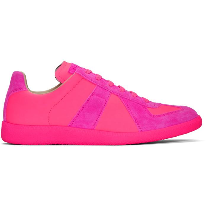 Photo: Maison Margiela Pink Replica Sneakers