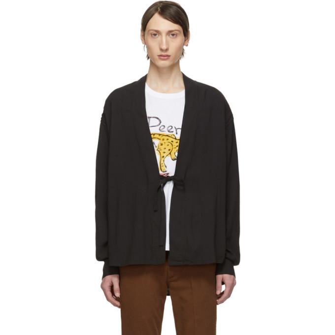 Photo: Visvim Black Rayon Lhamo Shirt