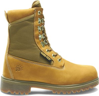 "Photo: Gold Waterproof Insulated 8"" Work Boot"