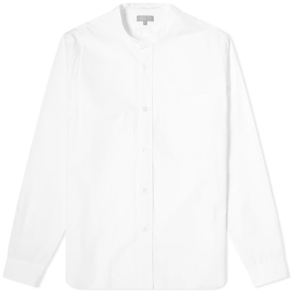 Margaret Howell Button Through Collarless Shirt