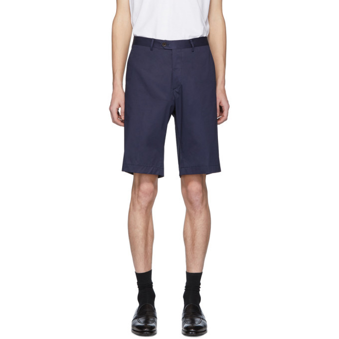 Photo: Etro Navy Bermuda Shorts
