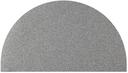 Slash Objects Grey Half Circle Mat