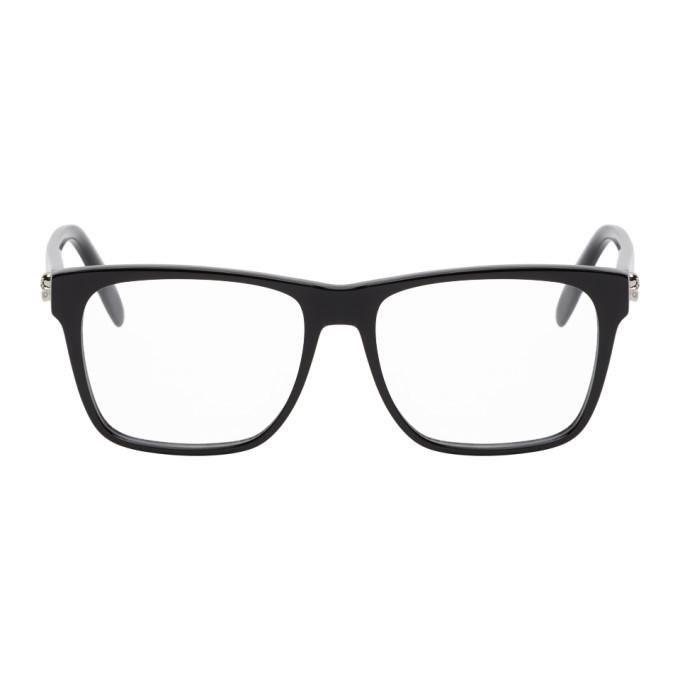 Photo: Alexander McQueen Black Square Glasses