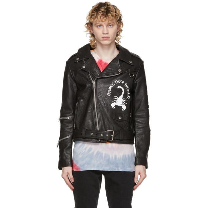 Photo: Stolen Girlfriends Club Black Leather Scorpio Rising Jacket