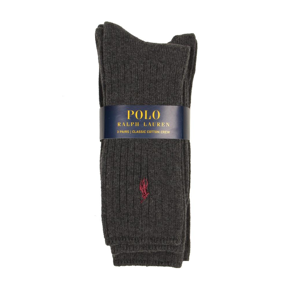 Photo: 3-Pack Socks - Charcoal
