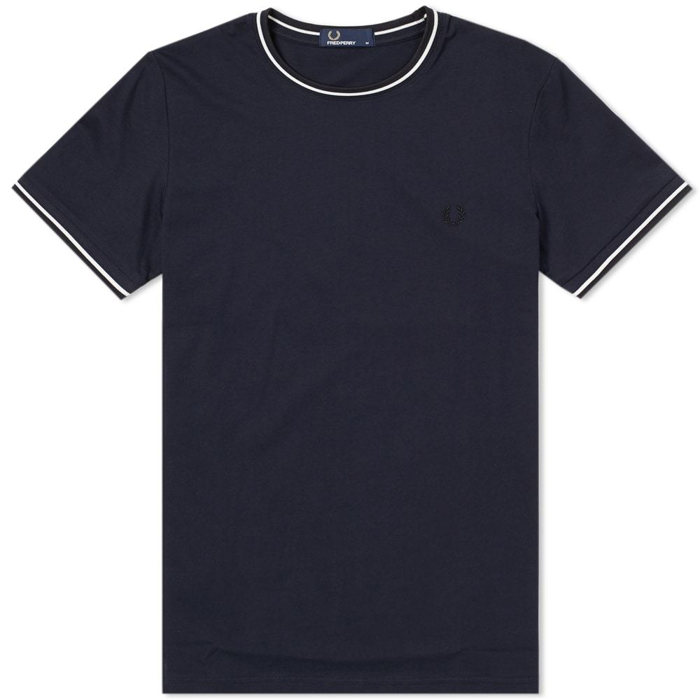 Photo: Fred Perry Twin Tipped Tee