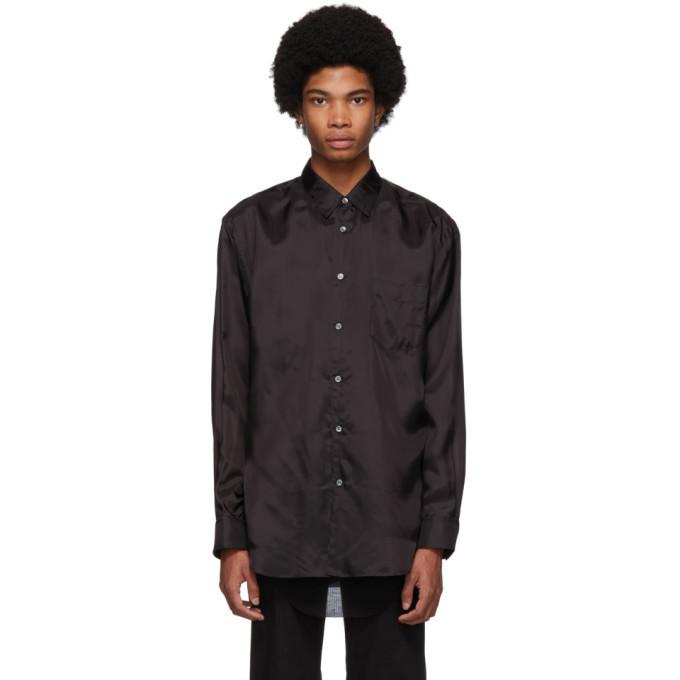 Photo: Comme des Garcons Shirt Black Lining Shirt