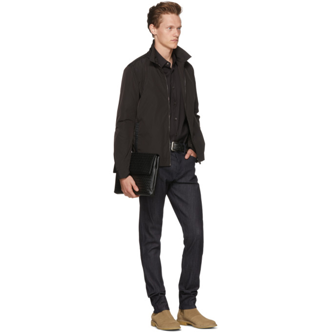Bottega Veneta Navy Stretch Denim Jeans