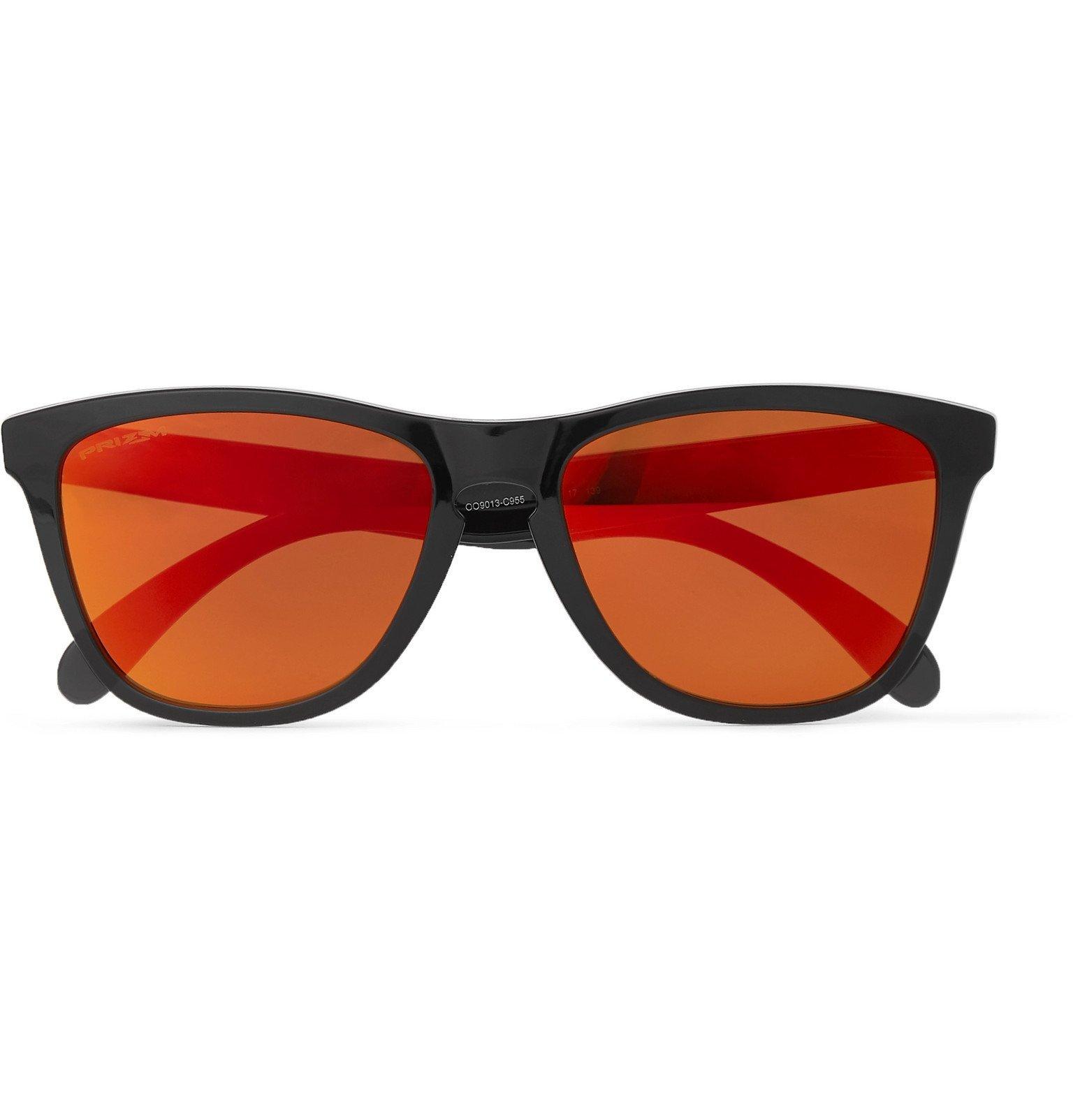 Photo: Oakley - Frogskins Prizm Road D-Frame Acetate Sunglasses - Black