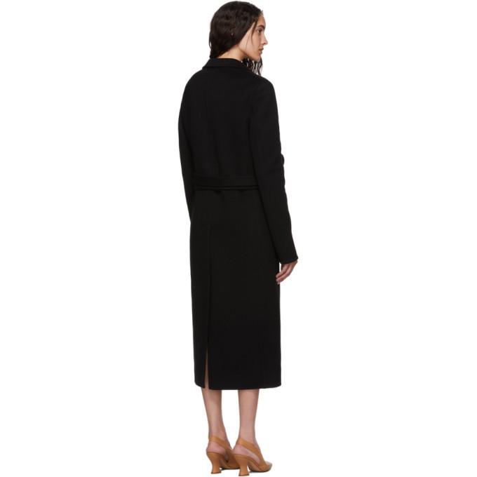 Bottega Veneta Black Wool Coat