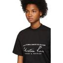 Martine Rose Black Slogan T-Shirt