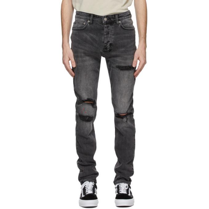 Ksubi Grey Chitch Nu Heritage Jeans
