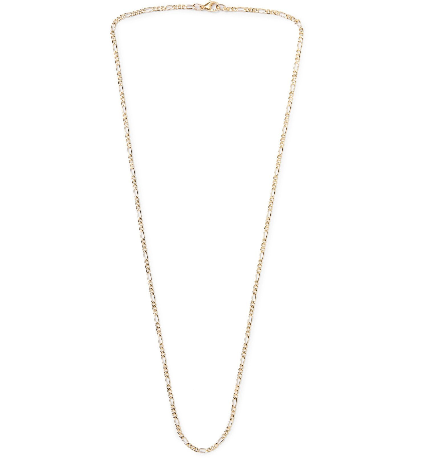 Photo: MAPLE - Figaro Gold-Filled Chain Necklace - Gold