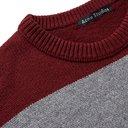 Acne Studios - Logo-Appliquéd Striped Wool Sweater - Red