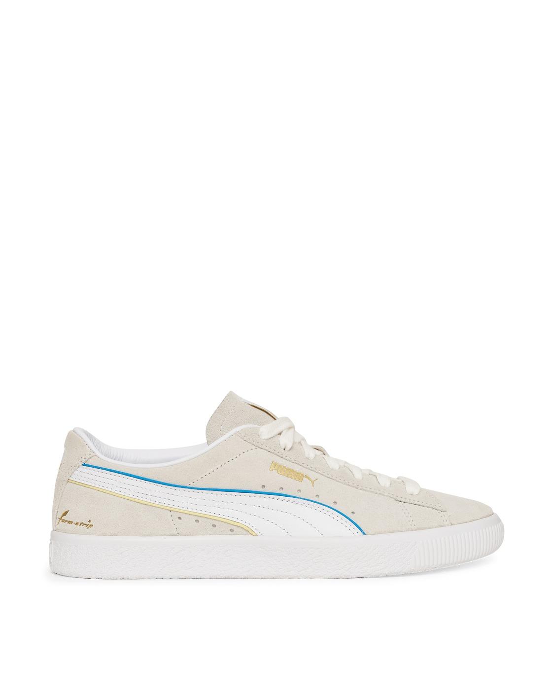 Photo: Puma Suede Vtg Rdl Fs Sneakers Vaporous Gray Puma White