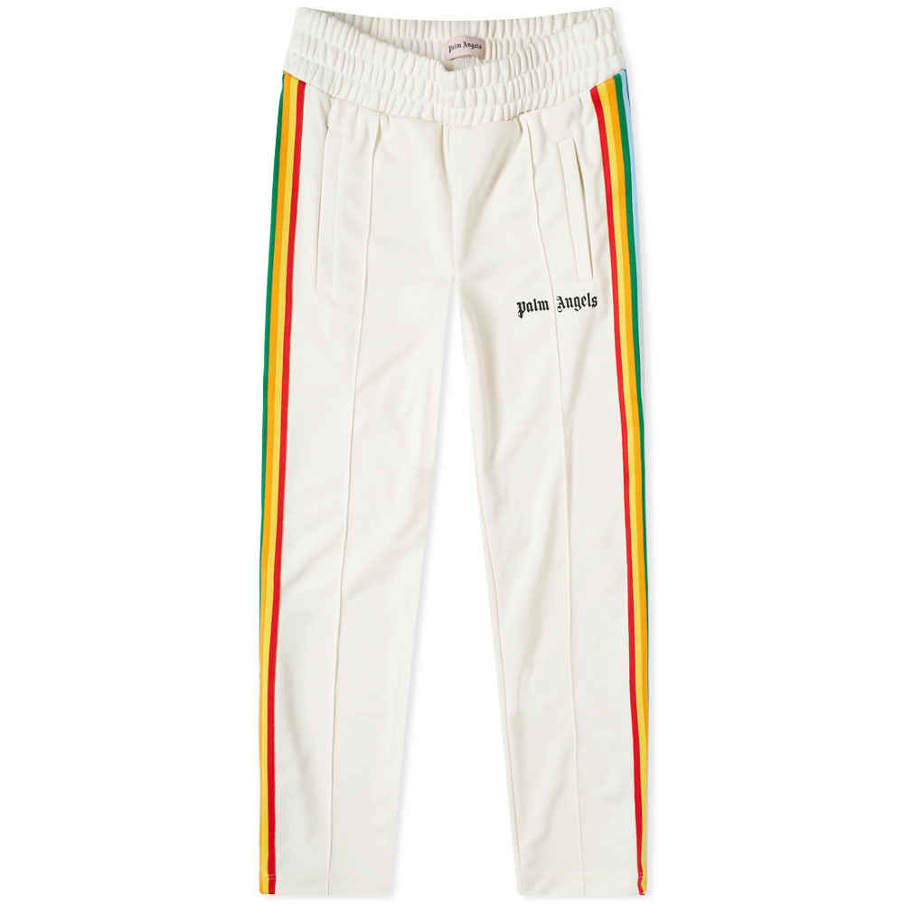 Photo: Palm Angels Rainbow Taped Track Pant