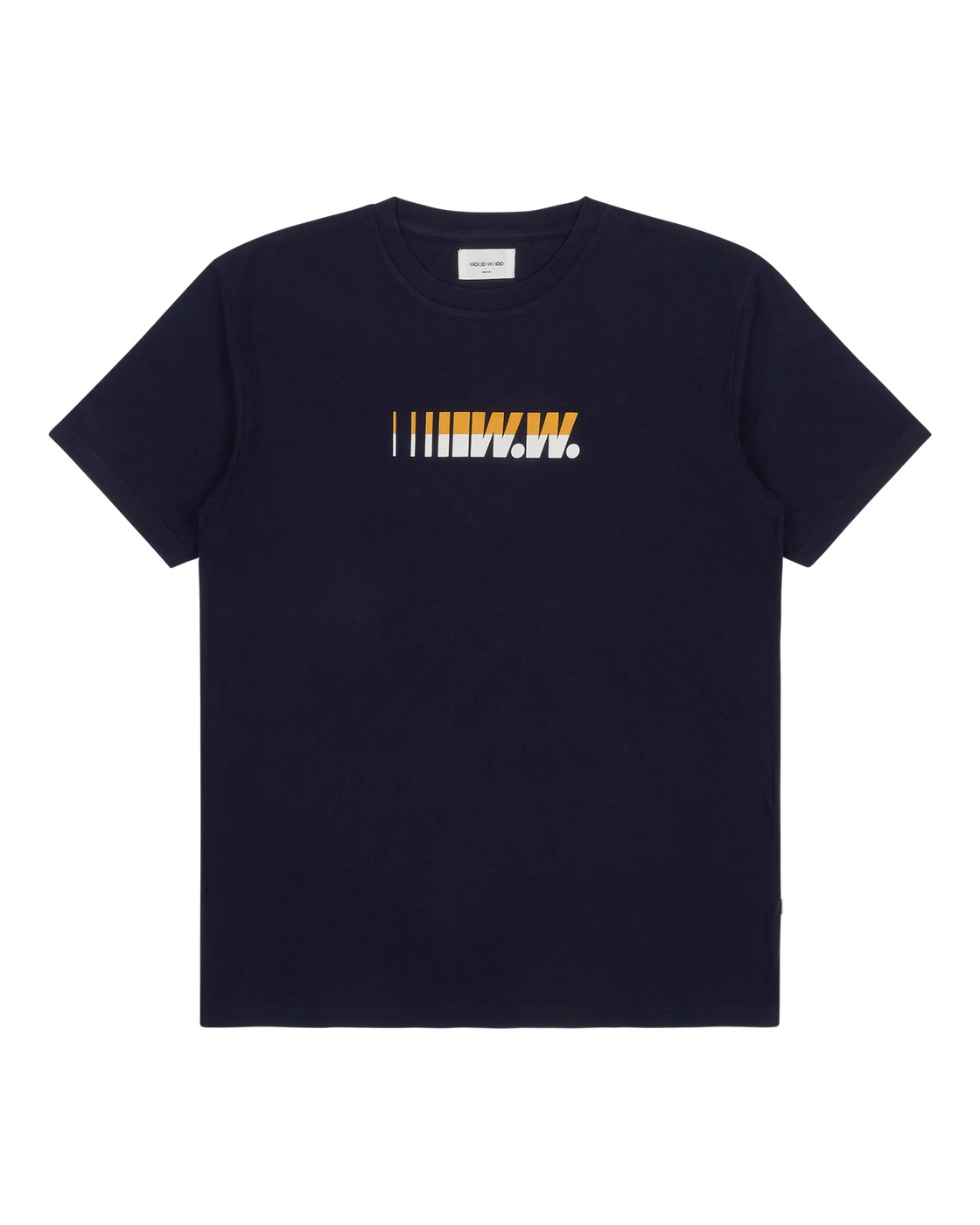Photo: Wood Wood Sami Graphic T Shirt Navy