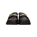 Martine Rose SSENSE Exclusive Black Logo Loafers