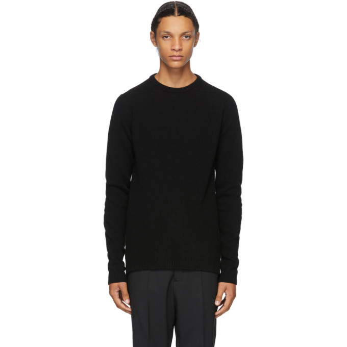 Photo: Rick Owens Black Biker Sweater