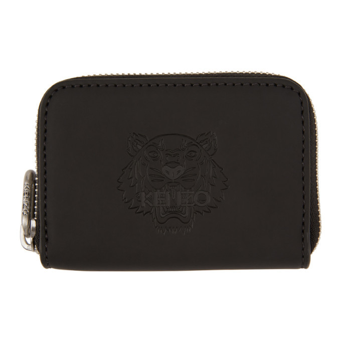 Photo: Kenzo Black Rubber Tiger Coin Pouch