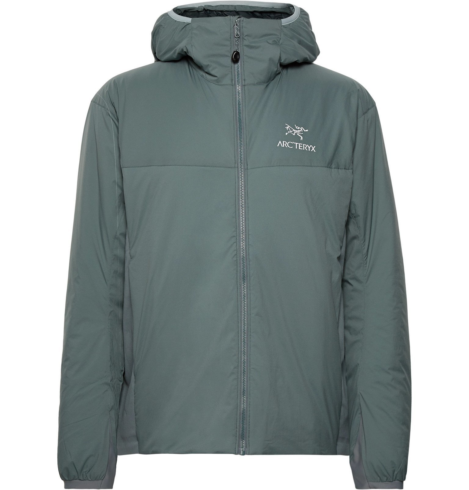 Photo: Arc'teryx - Atom LT Logo-Embroidered Shell Hooded Jacket - Green