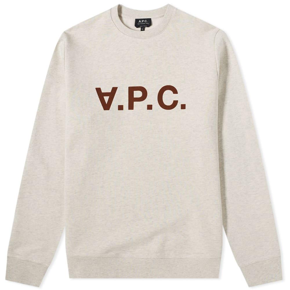 Photo: A.P.C. Vpc Logo Crew Sweat