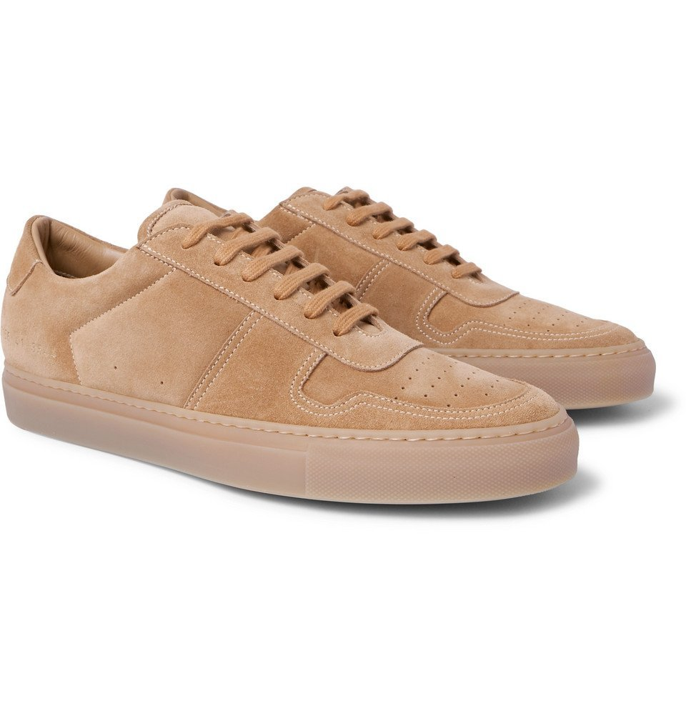 Common Projects - BBall Suede Sneakers - Men - Sand
