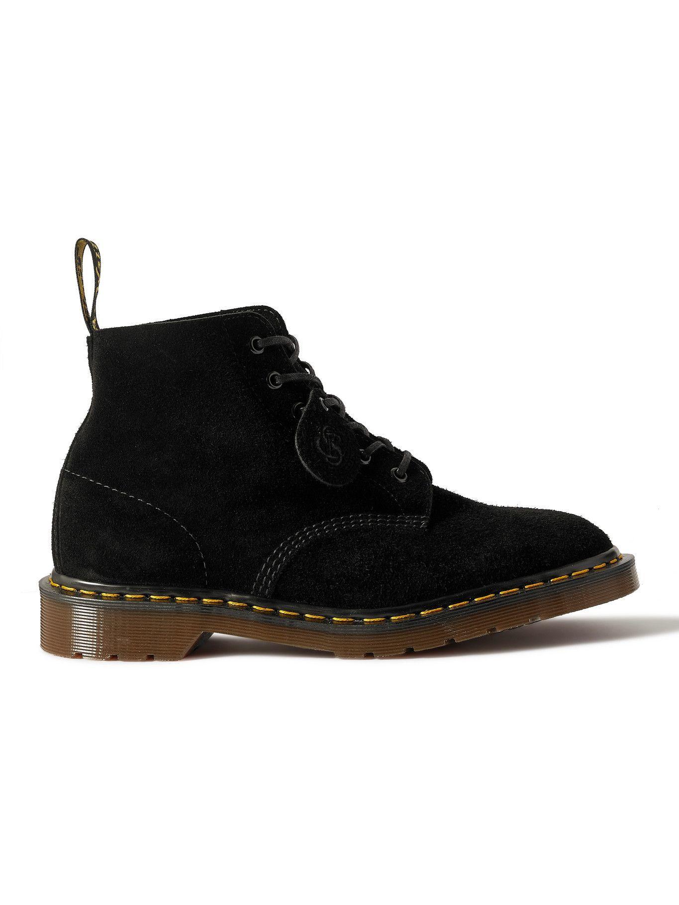 Photo: Dr. Martens - 101 Suede Boots - Black