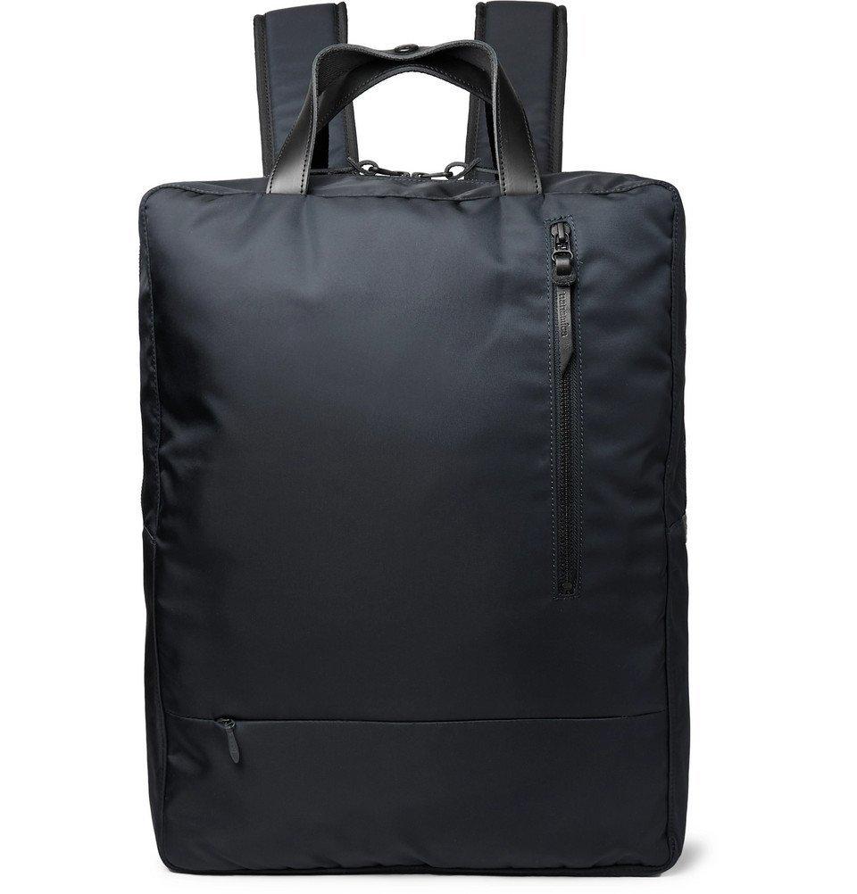 Photo: Incotex - nanamíca City Nylon Backpack - Navy