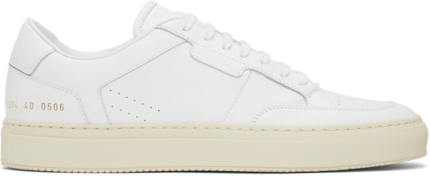 Photo: Common Projects White Zeus Prototype Low Sneakers