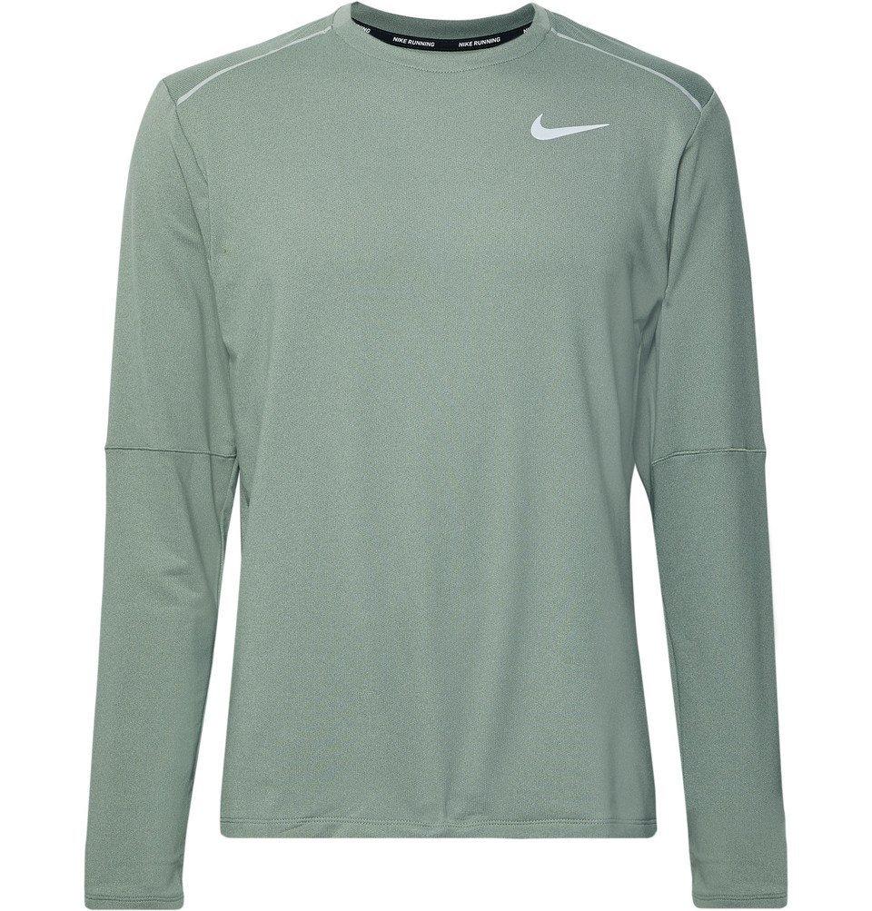 Nike Running - Element 3.0 Dri-FIT T-Shirt - Sage green
