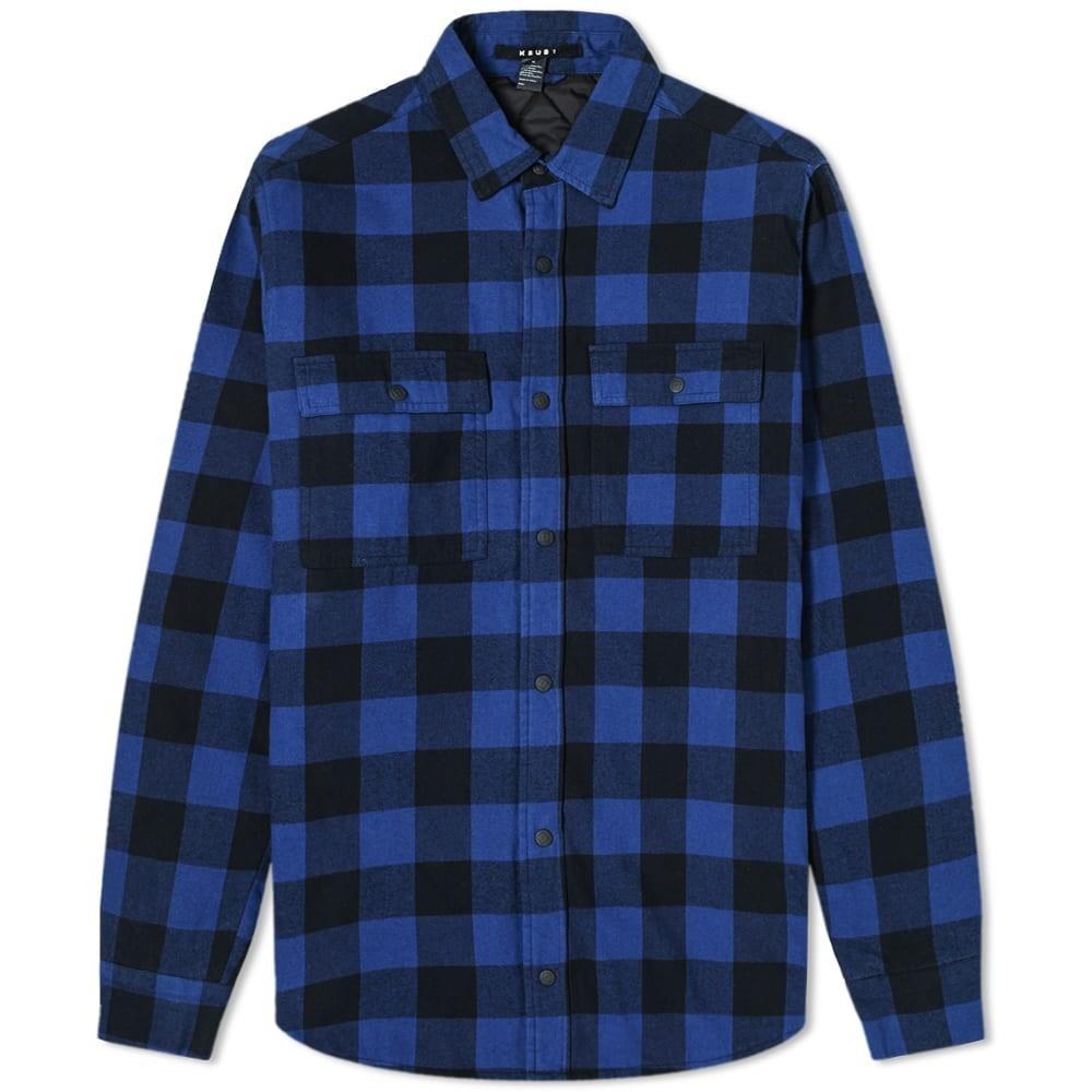 Ksubi Dub Check Padded Shirt