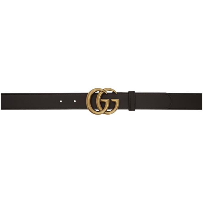 Photo: Gucci Brown GG Belt