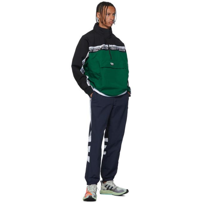 adidas Originals Green and Black RYV BLKD 2.0 Track Jacket
