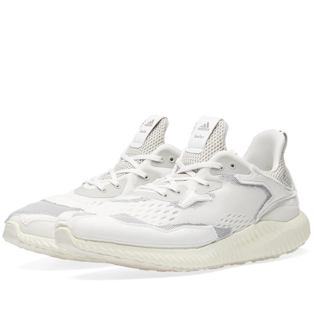Adidas x Kolor Alphabounce White