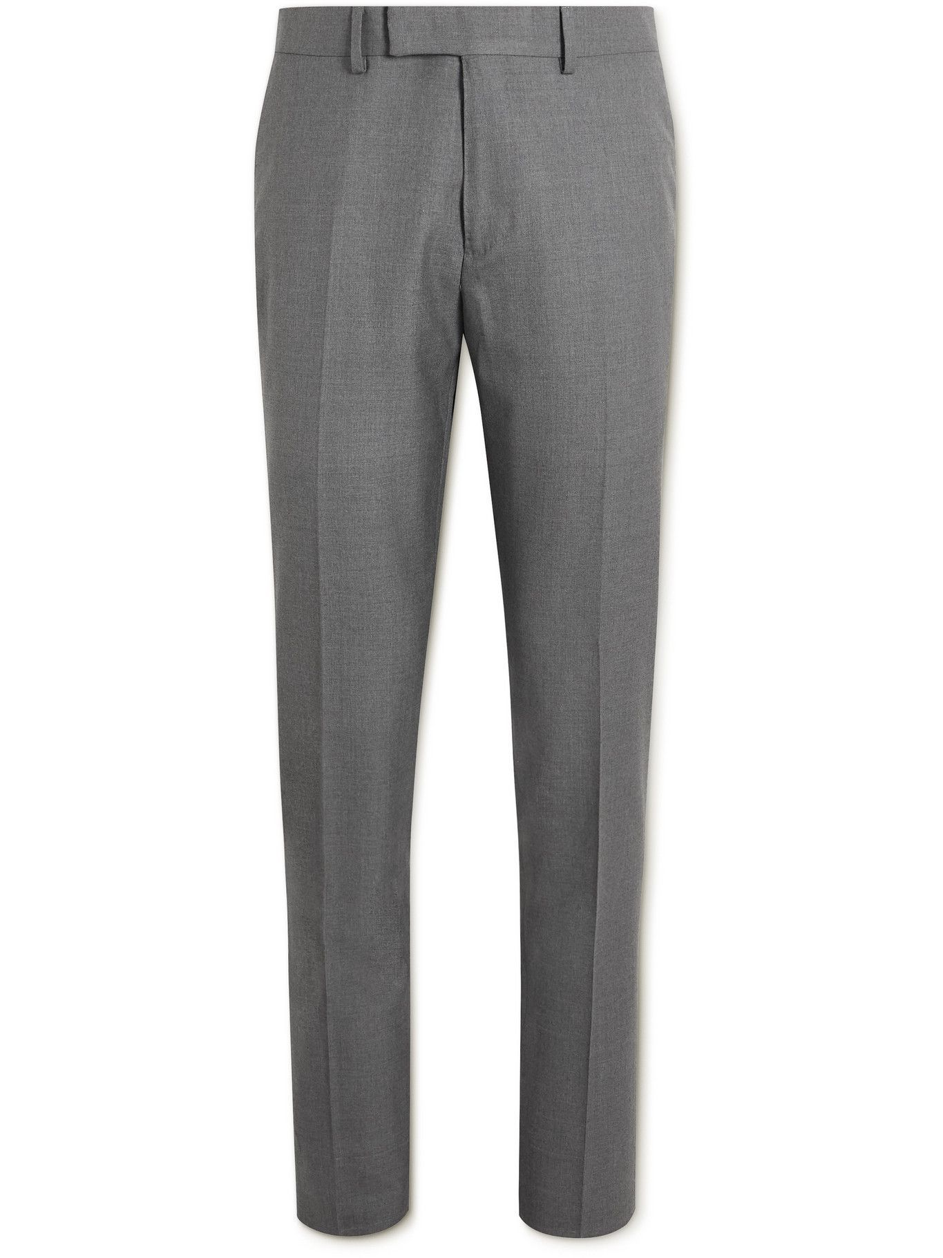 DUNHILL - Mayfair Super 150s Wool Suit Trousers - Gray