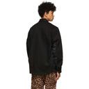 Sacai Black Twill Blouson Jacket