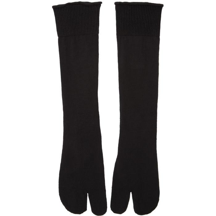 Photo: Maison Margiela Black Tabi Socks