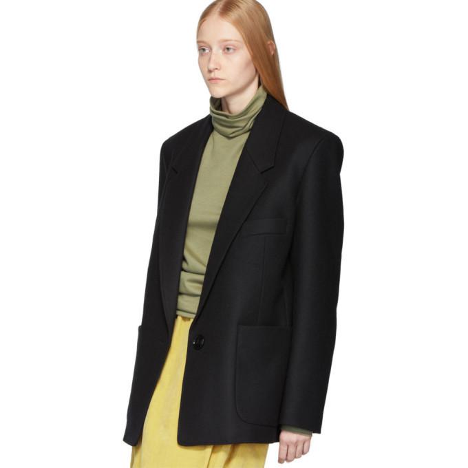 Lemaire Black Suit Jacket