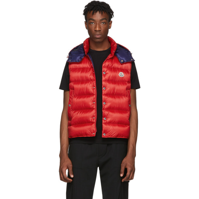 Photo: Moncler Red Down Billecart Vest
