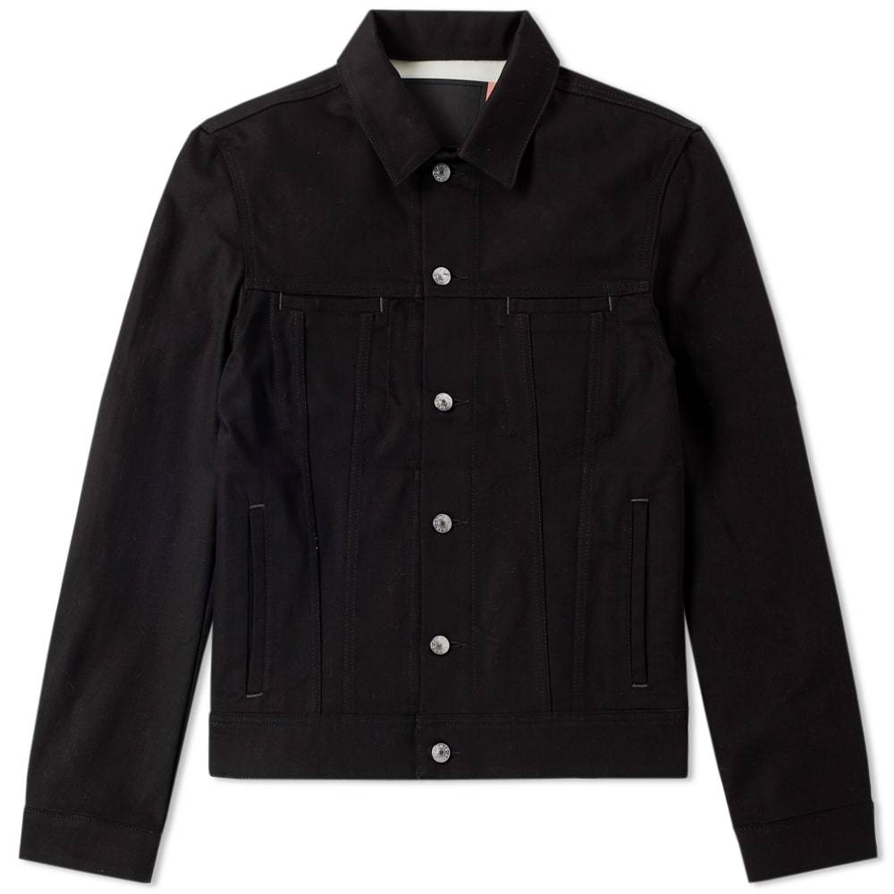 Photo: Acne Studios Pass Denim Jacket Black