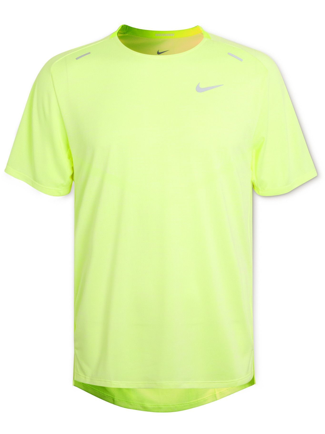 Photo: Nike Running - Techknit Ultra Dri-FIT T-Shirt - Green
