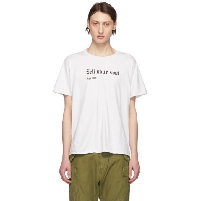 Photo: R13 Off-White Sell Your Soul Boy T-Shirt
