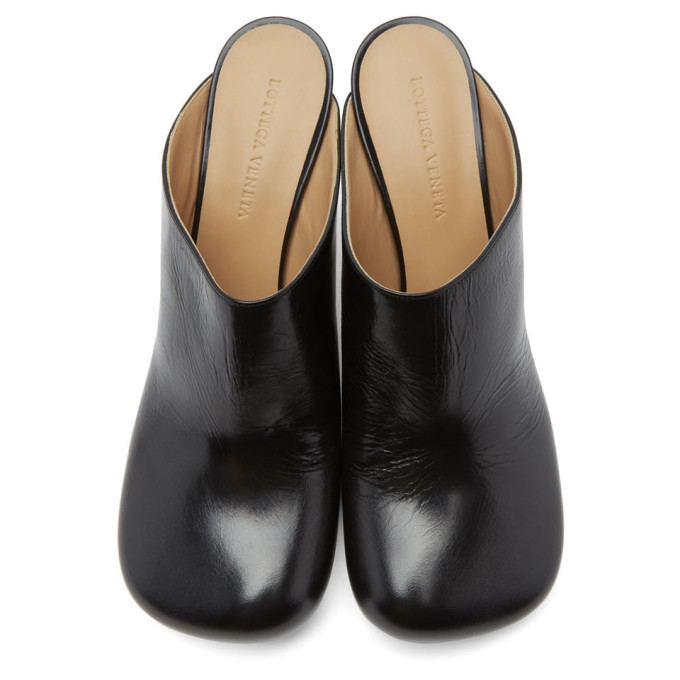 Bottega Veneta Black Bloc Heels