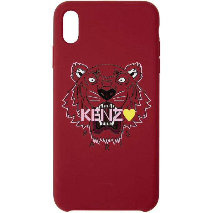 Photo: Kenzo Red Limited Edition Tiger iPhone X/XS Case