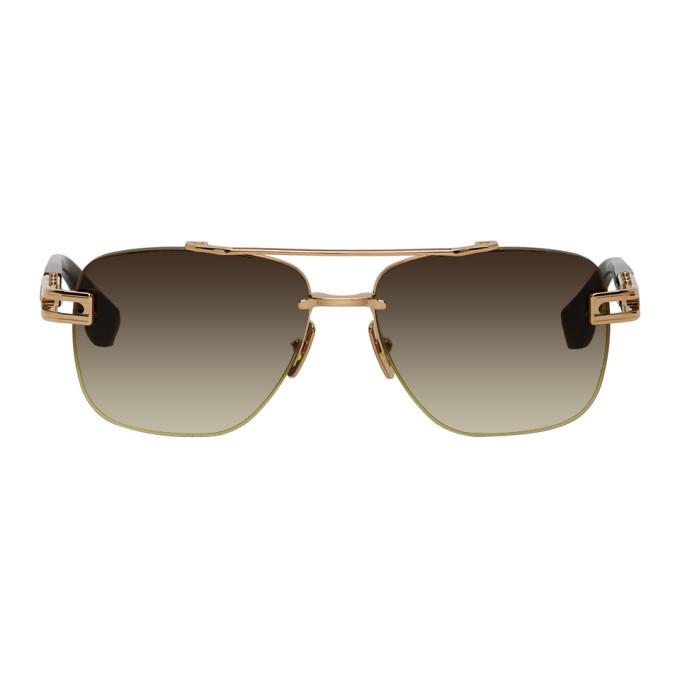 Photo: Dita Gold and Tortoiseshell Grand-Evo One Sunglasses