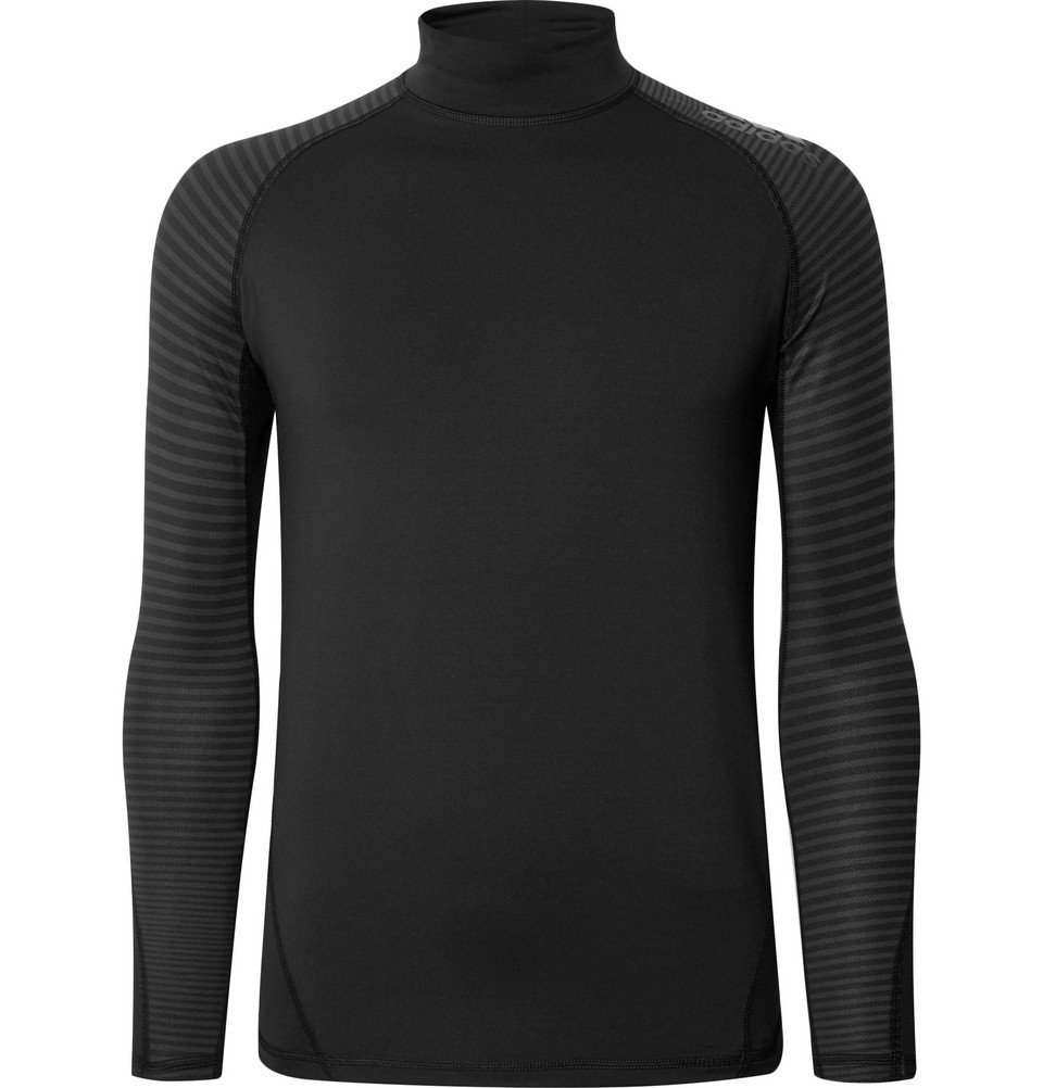 Adidas Sport - Alphaskin Climawarm T-Shirt - Black