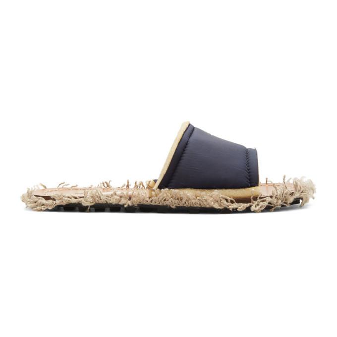 Photo: Marni Black Yarn Sandals