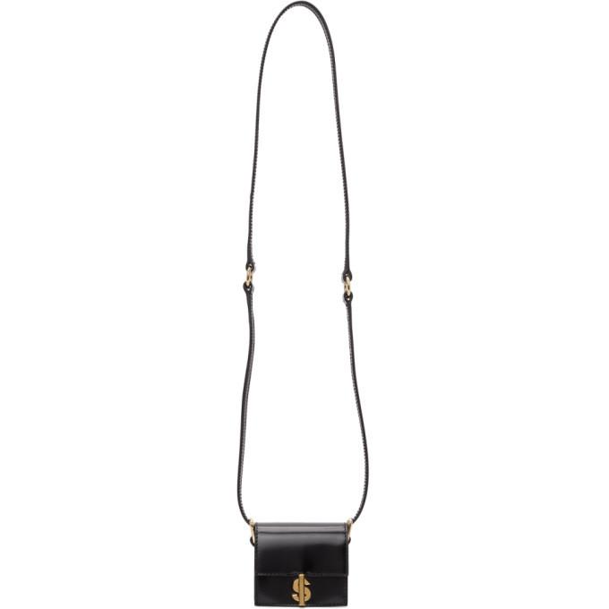 Sacai Black Micro S Satchel Bag